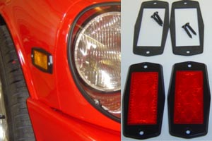Datsun Z Flush Mount Lighting Kit 240z, 260z, 280z